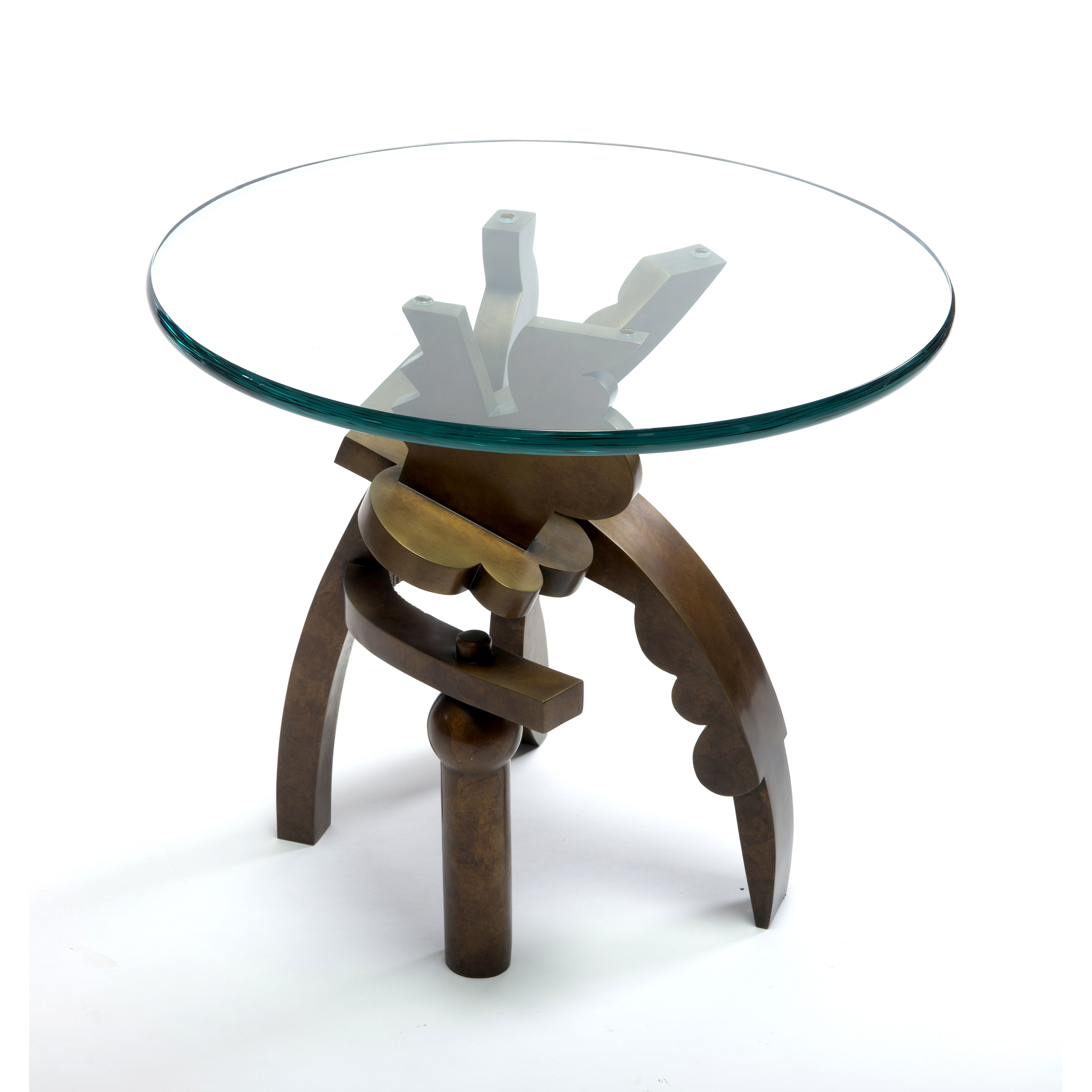 end table covers probably outrageous best idea garry knox bennet wexler gallery web bronze patinaed cast glass piece dining set walnut grain butcher block silver small side