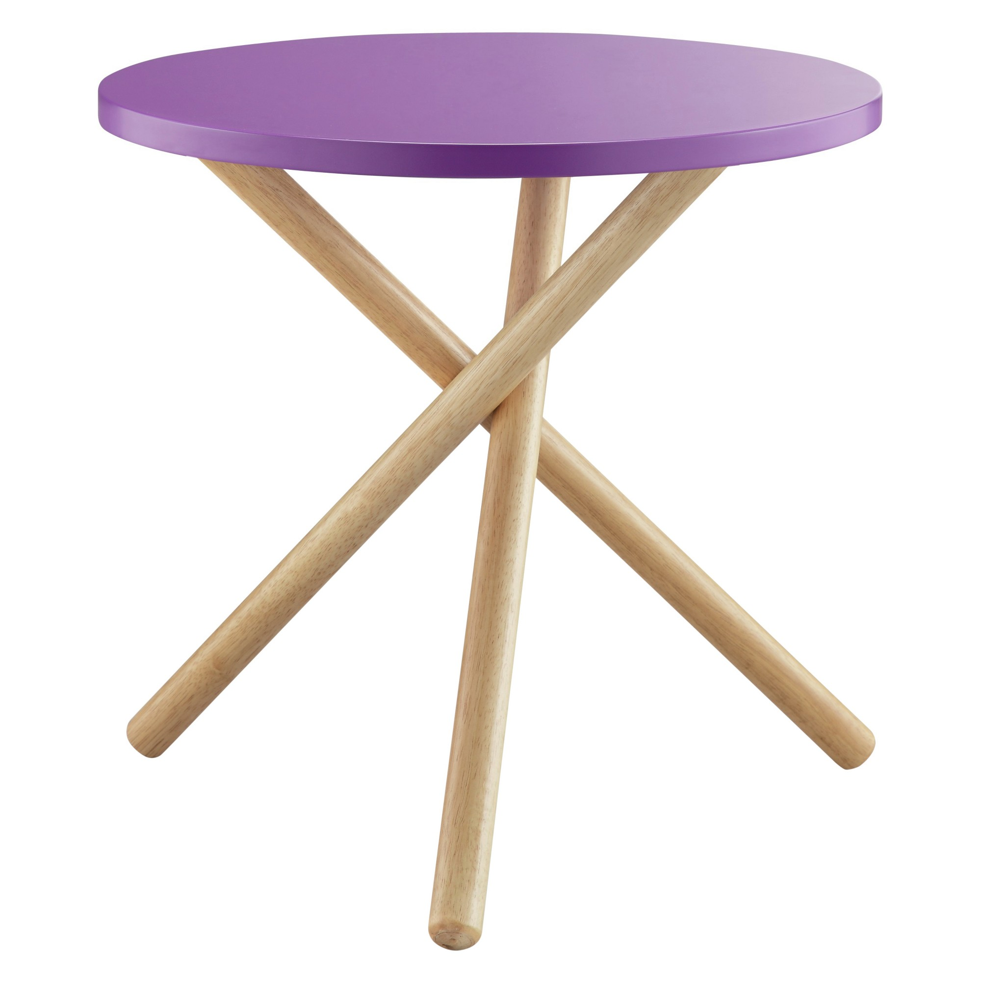 end table purple accent tables accents and products neelan round foldable coffee ikea coastal inspired lighting diy rustic cherry wood small farmhouse dining screw wooden legs