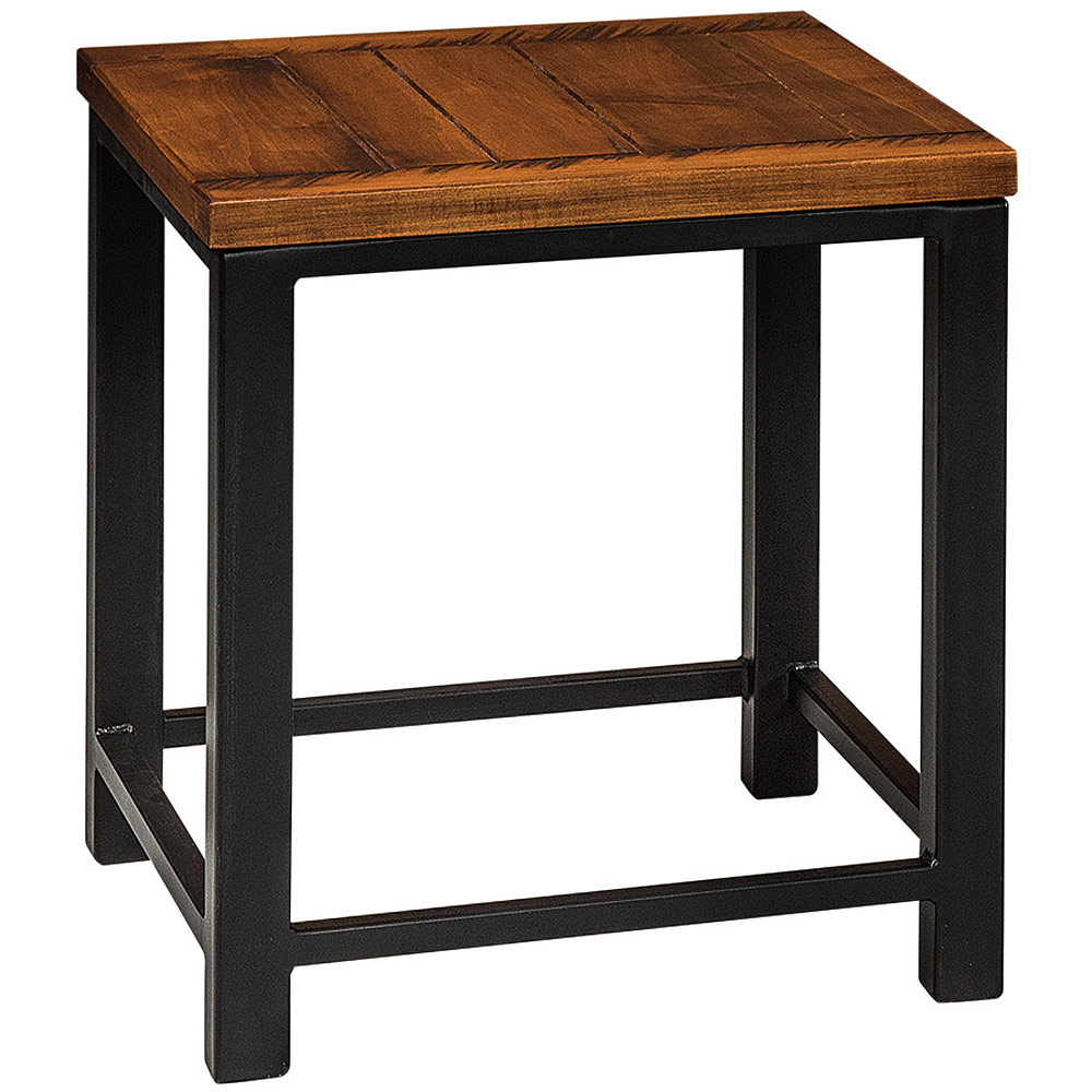 end table rustic furniture small side corner accent dmpkvocmtx integrity black metal nesting tables office desk round farmhouse dining and chairs cherry wood room solid coffee