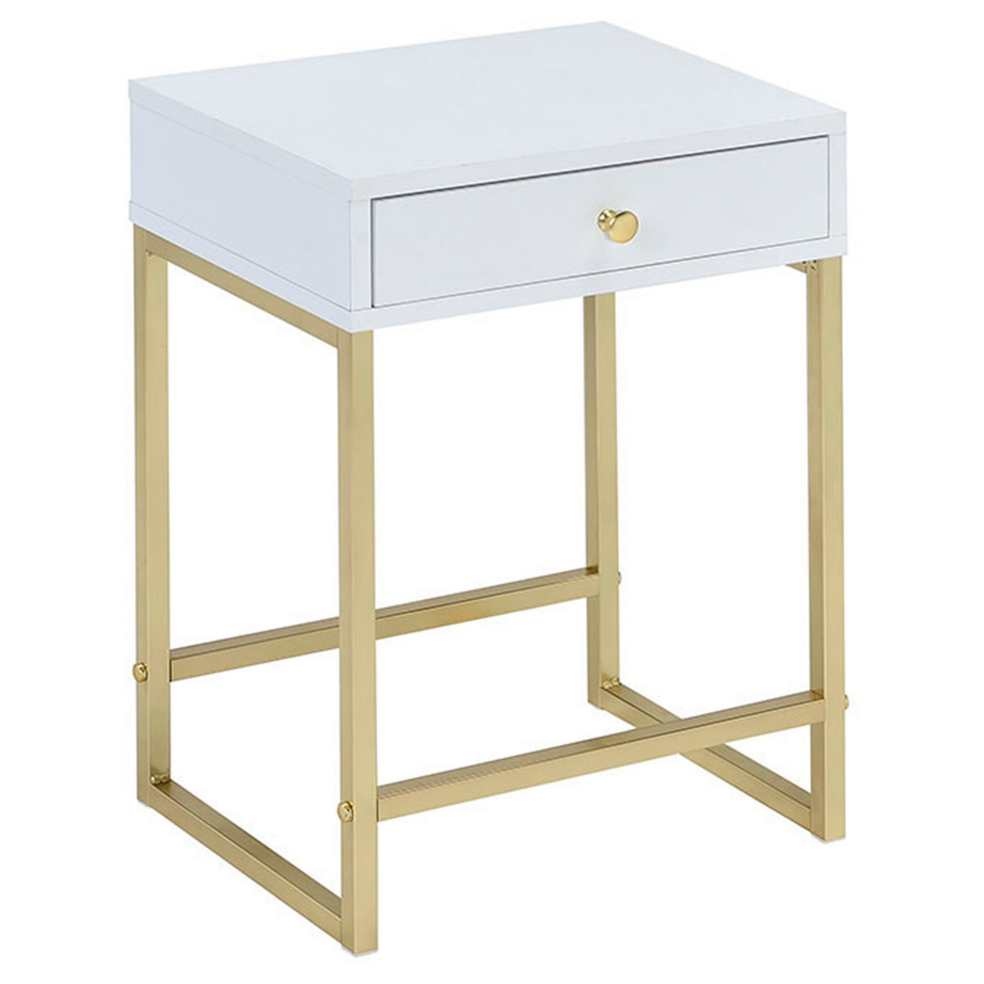 end table white brass accent tables products parquet target hand painted drawers colorful side round patio chair drop leaf concrete contemporary furniture edmonton ethan allen art