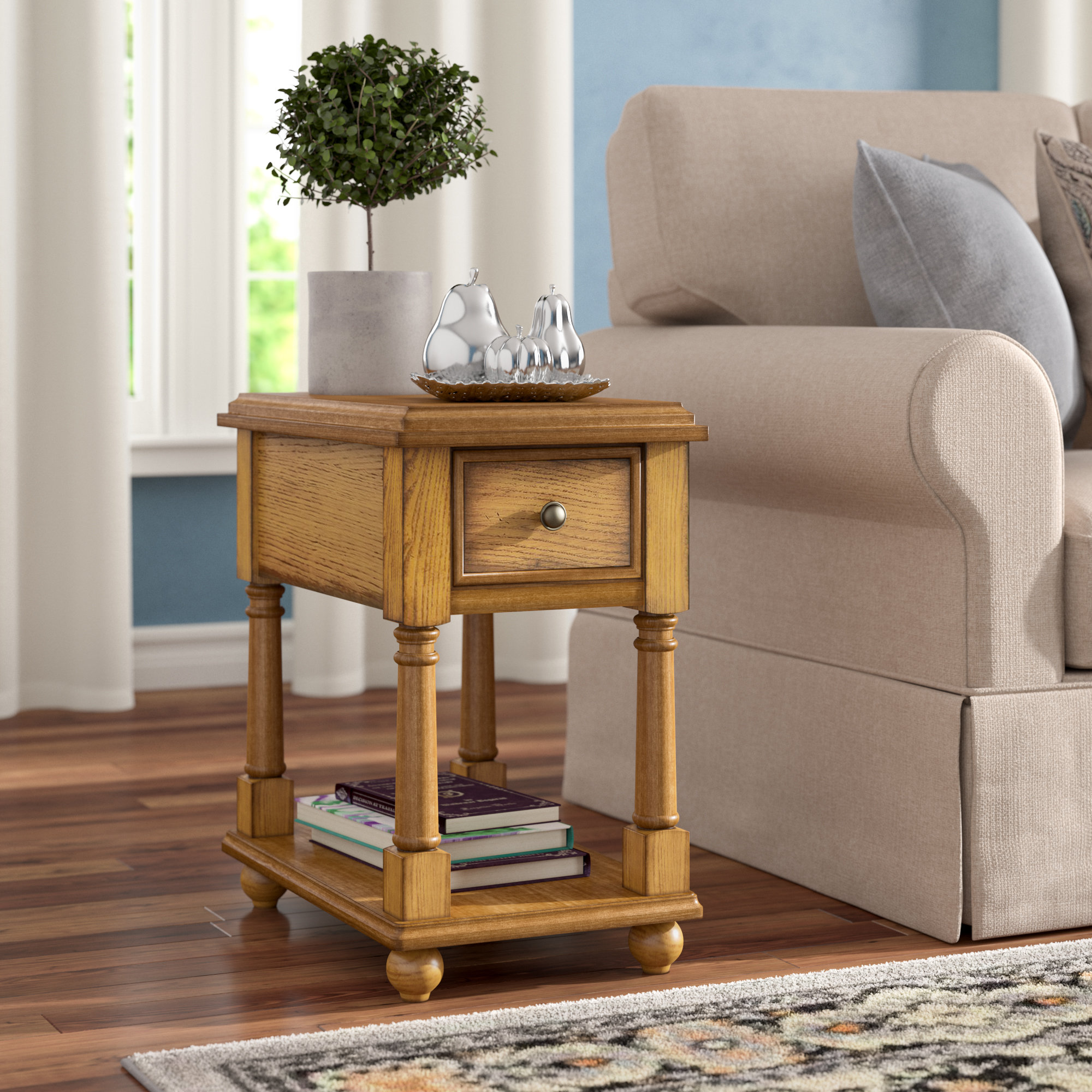 end table with bottom shelf katherine storage room essentials mixed material accent square for skinny garden occasional tables coffee tray ideas stylish lamps mirrored bedroom
