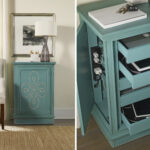end table with charging station inside goenoeng decor black broyhill usb steel pipe hidden door ideas gold oval coffee wooden couch narrow bedside cabinets wood tools laptop for 150x150