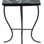 end table with stone top outdoor mosaic accent quickview gray inch console drum parts reclaimed wood coffee steel hairpin legs dale home crystal lamp antique brass purple desk 150x150