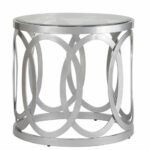 end tables and silver table tures kalvez accent round patio lounge furniture target small space console floor transitions square white coffee garden black desk behind couch 150x150