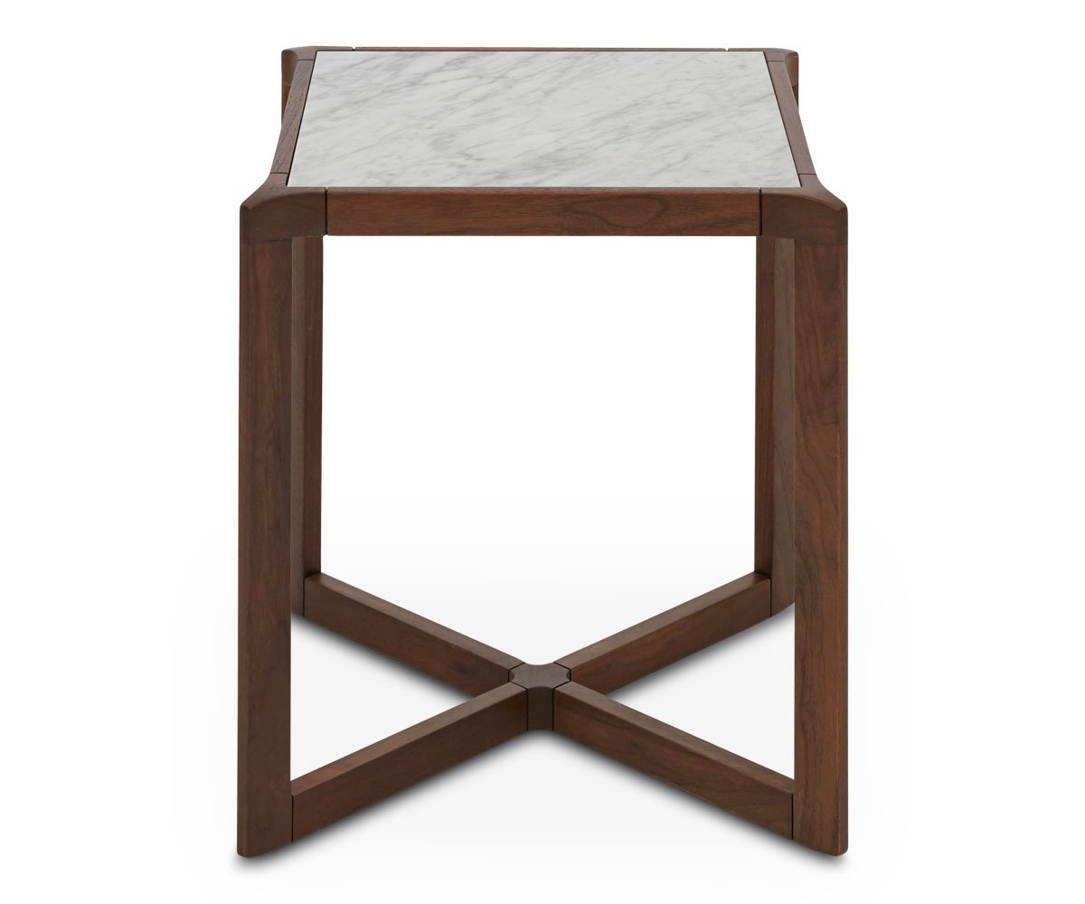 end tables dania furniture mirrored glass accent table with drawer eira country cottage coffee white wall clock ashley bedding entryway rug west elm industrial console wooden