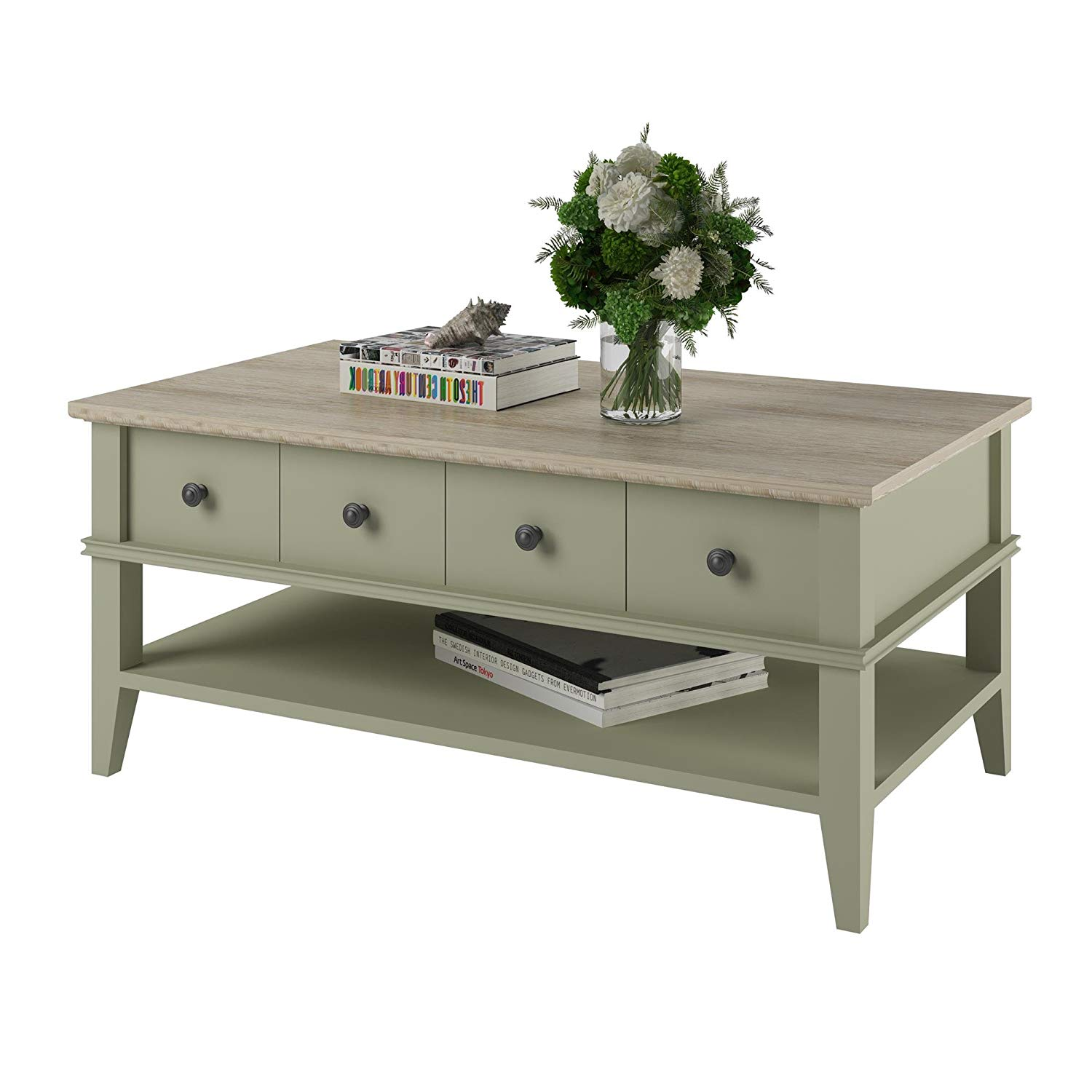 end tables designs green ked and painted she said with regard ameriwood home newport coffee table sage kitchen dining throughout target hafley accent glass nightstand game console