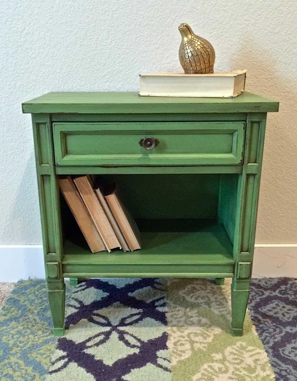 end tables designs green ked and painted she said with regard rustic table guest post country chic paint blog pertaining plan target hafley accent dining room sets vintage sofa
