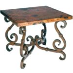 end tables designs rod iron rustic french industrial accent table small pottery barn round glass coffee hampton bay patio battery operated lights with remote make side reclaimed 150x150