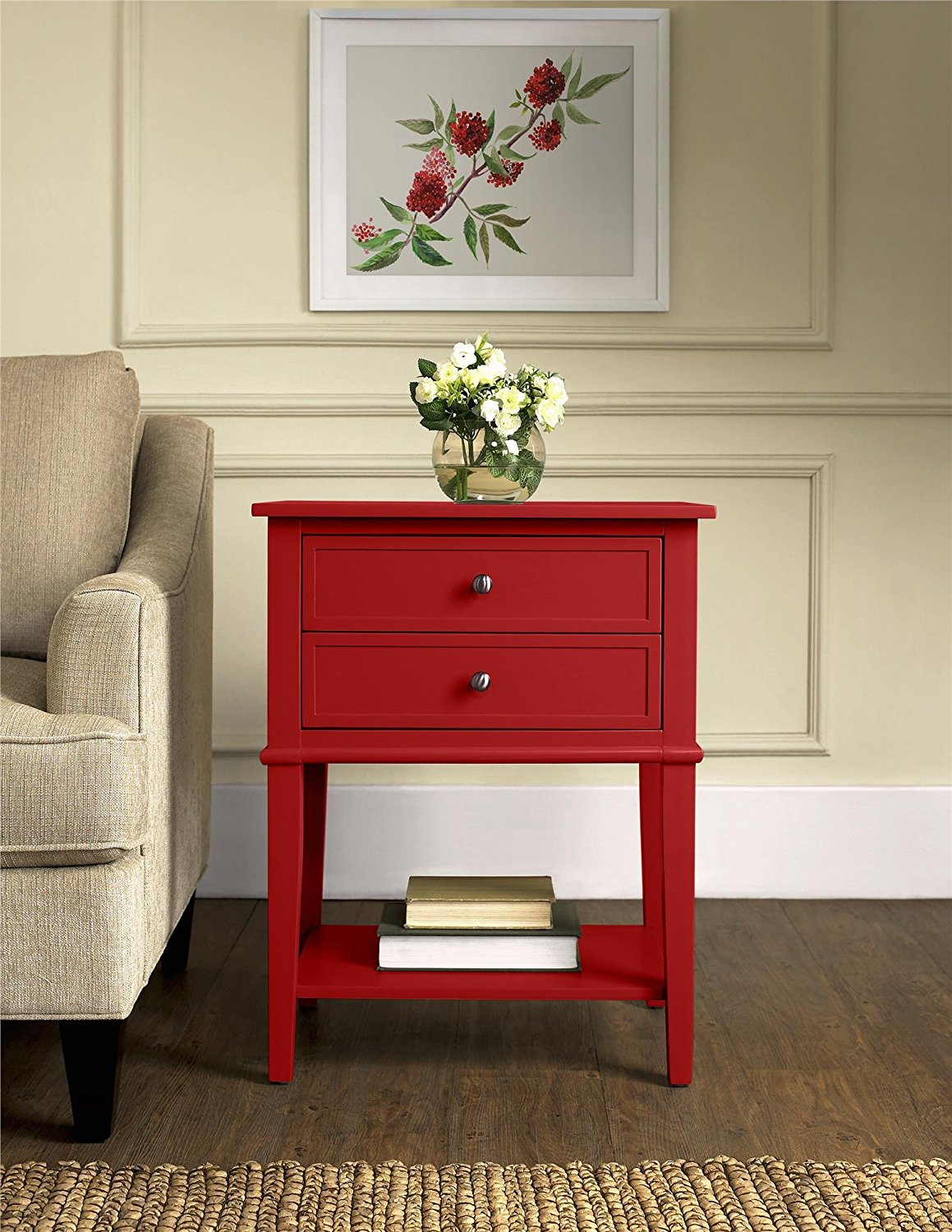 end tables drawer table ameriwood home franklin accent with bedroom drawers grey wood the terrific tall bedside nightstands night stand unique solid how small red white slim side