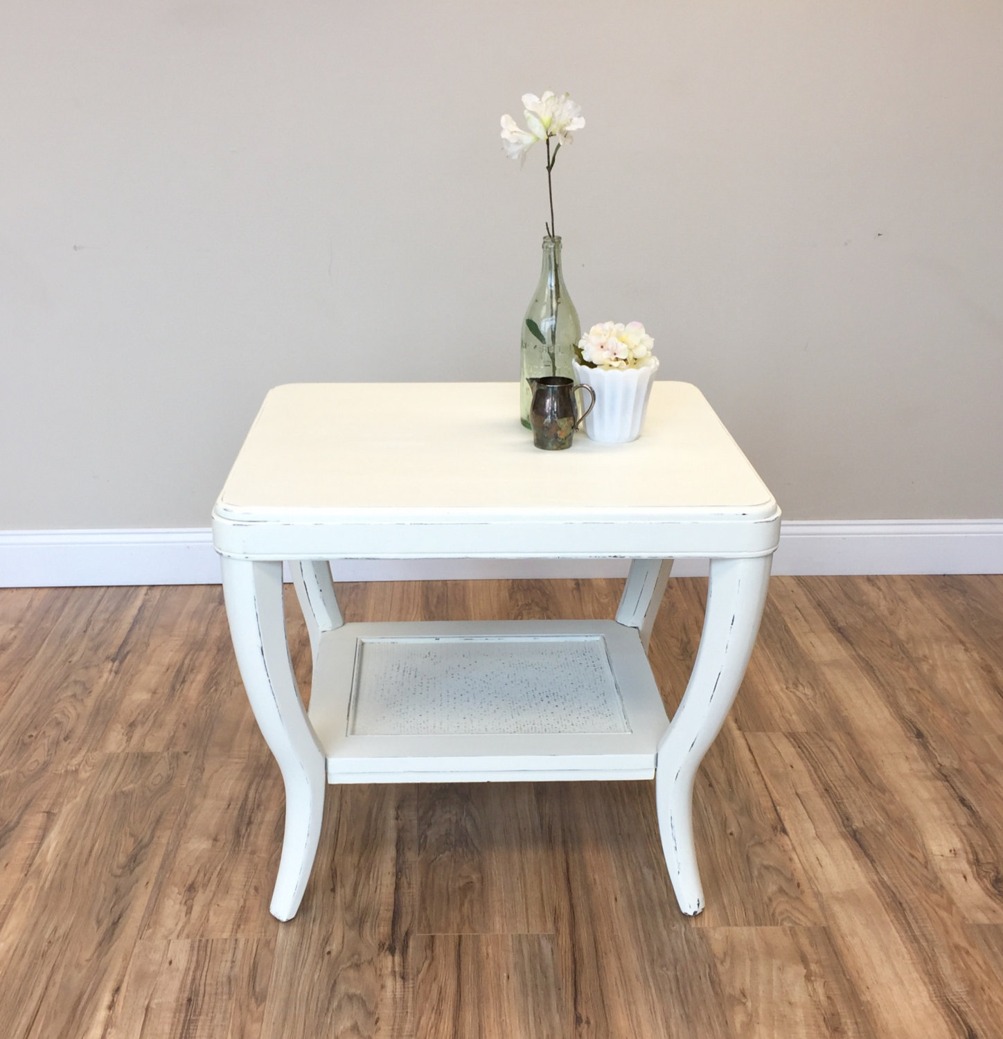 end tables newton find chic accent pieces vintage hip decor white table sofa side farmhouse style chairs ikea wooden storage box coastal beach lamps pier imports patio furniture