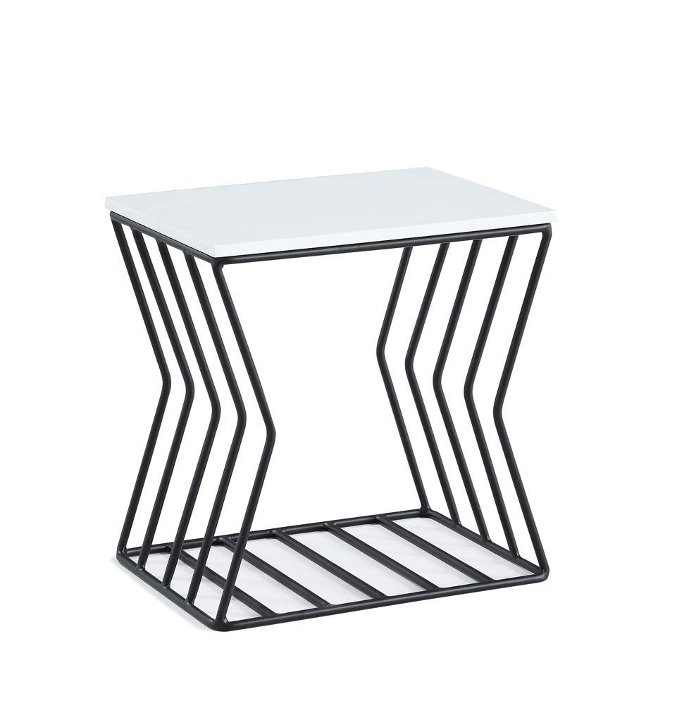 end tables ping for clothing shoes jewelry pet winsome timmy accent table black now house jonathan adler grid and white cool ideas metal side with wood top small round farmhouse