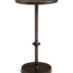 end tables side tea arhaus product largestandard high round accent table west elm branch lamp wood with storage reproduction vintage furniture retro large square tablecloth for 150x150