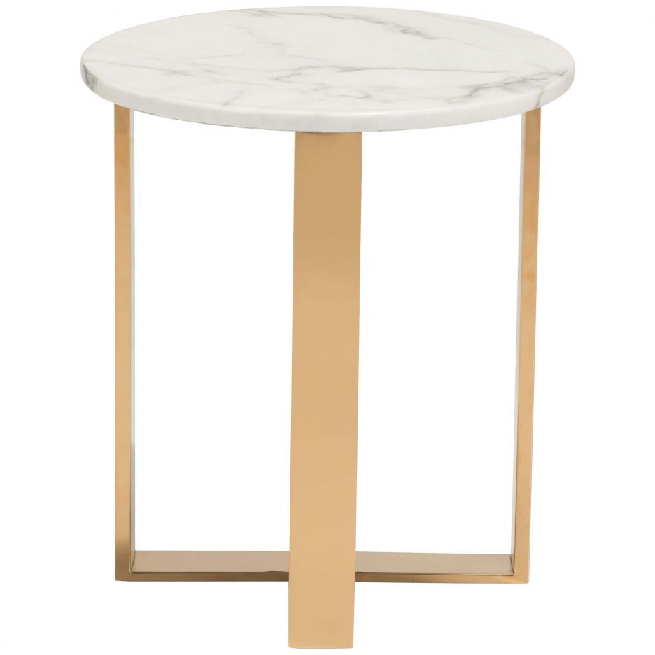 end tables table white and gold accent rose furniture wood console black marble metal side large square pedestal coffee west elm yellow lamp aluminium outdoor thin cream wall