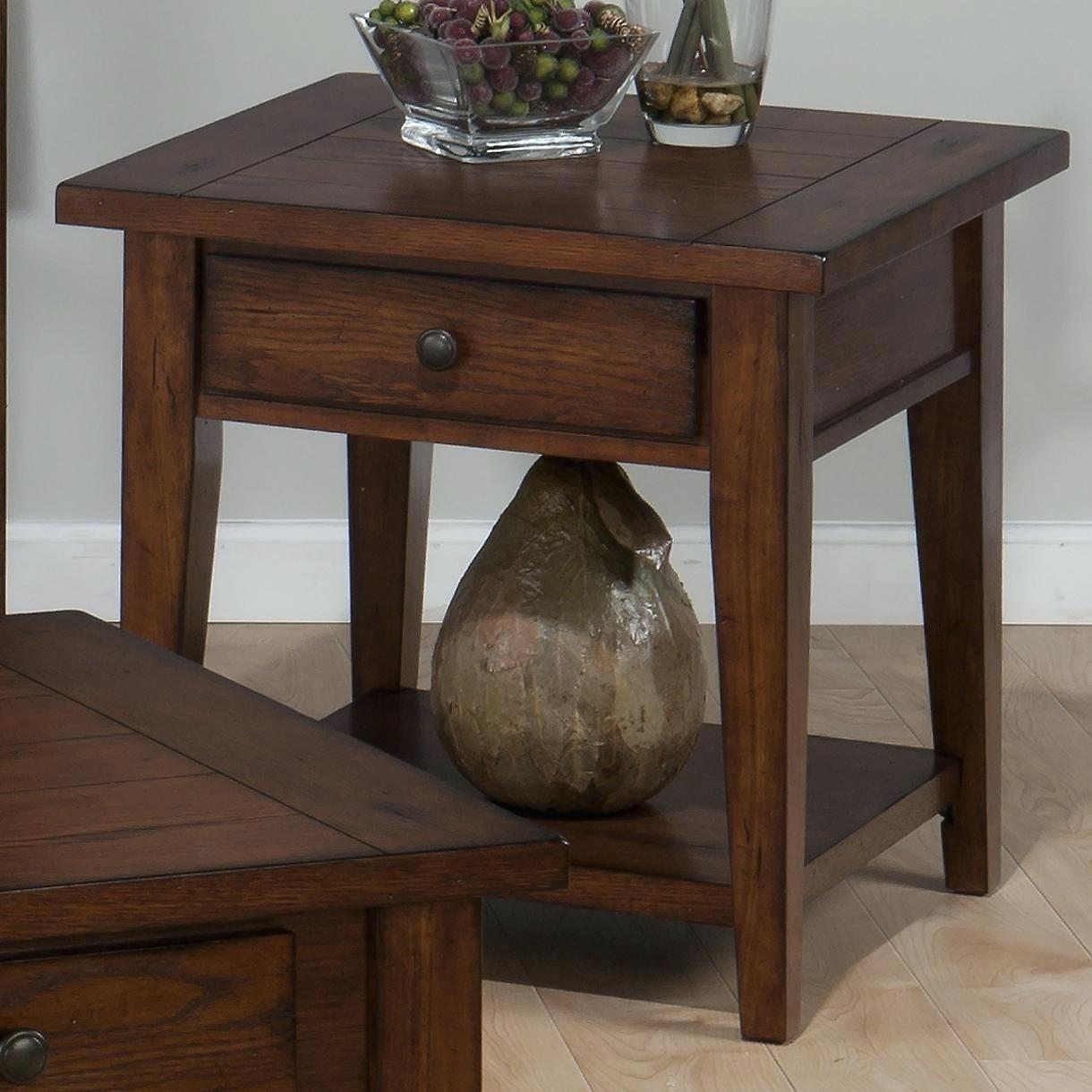 end tables with drawer and shelf clay county oak table side small accent rectangular mosaic inch round lace tablecloth glass contemporary ikea tops west elm industrial coffee
