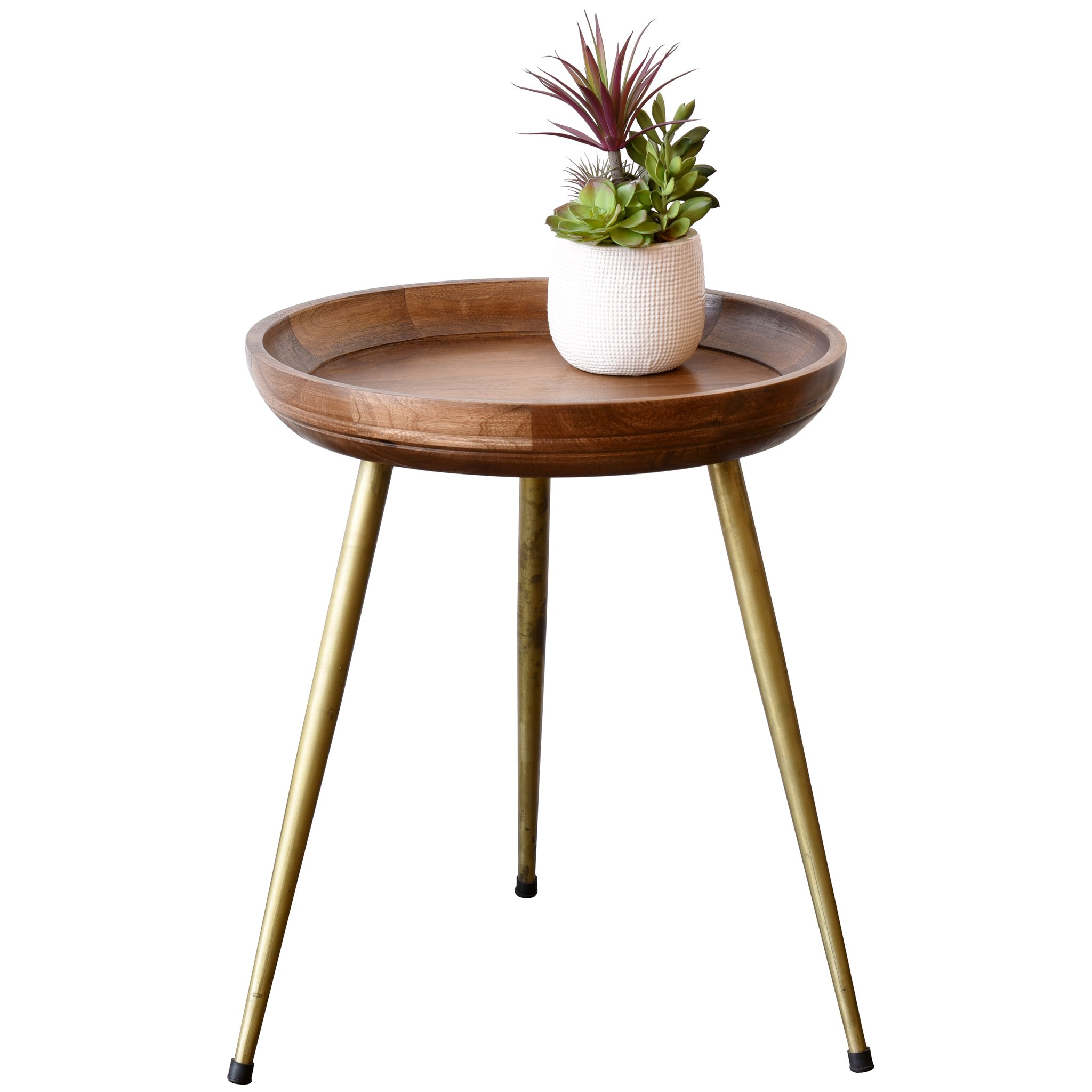 end tables woodwaves round mid century modern retro wood table with gold legs accent brass skinny ikea cordless lamps for living room monarch side extra large coffee asian style