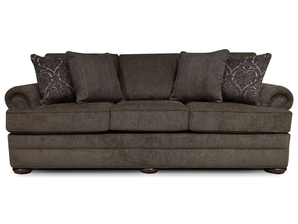 england knox sofa with nailhead trim dunk bright furniture products color king kong otter accent table sofas inch console mahogany bedside tables standard lamps shabby chic coffee