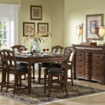 english manor counter height dining room set homelegance accent furniture moroccan table battery house lights rustic wine rack nightstand with drawers home goods desk lamps piece 150x150