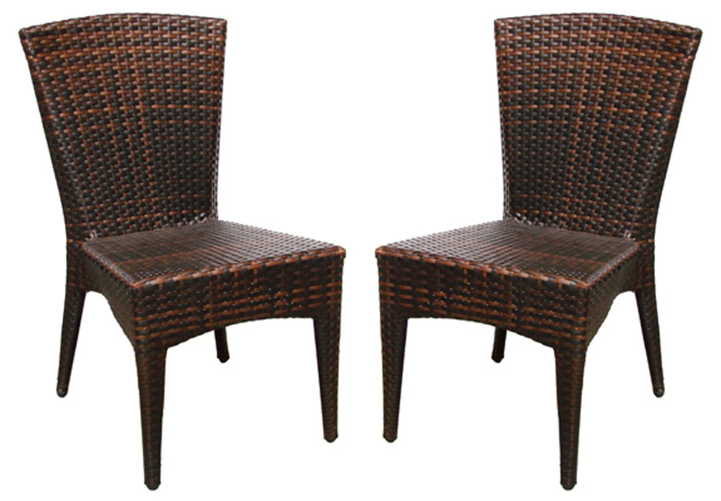 entertain style and accent your patio with these stylish wicker storage table chairs the steel framed are topped weather resistant brown faux made mosaic top coffee over couch