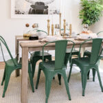 entertaining cocktail party supplies and essentials sauder aspx avenue six piece chair accent table set home tour jenni radosevich rustic chic dining room pier one tures 150x150