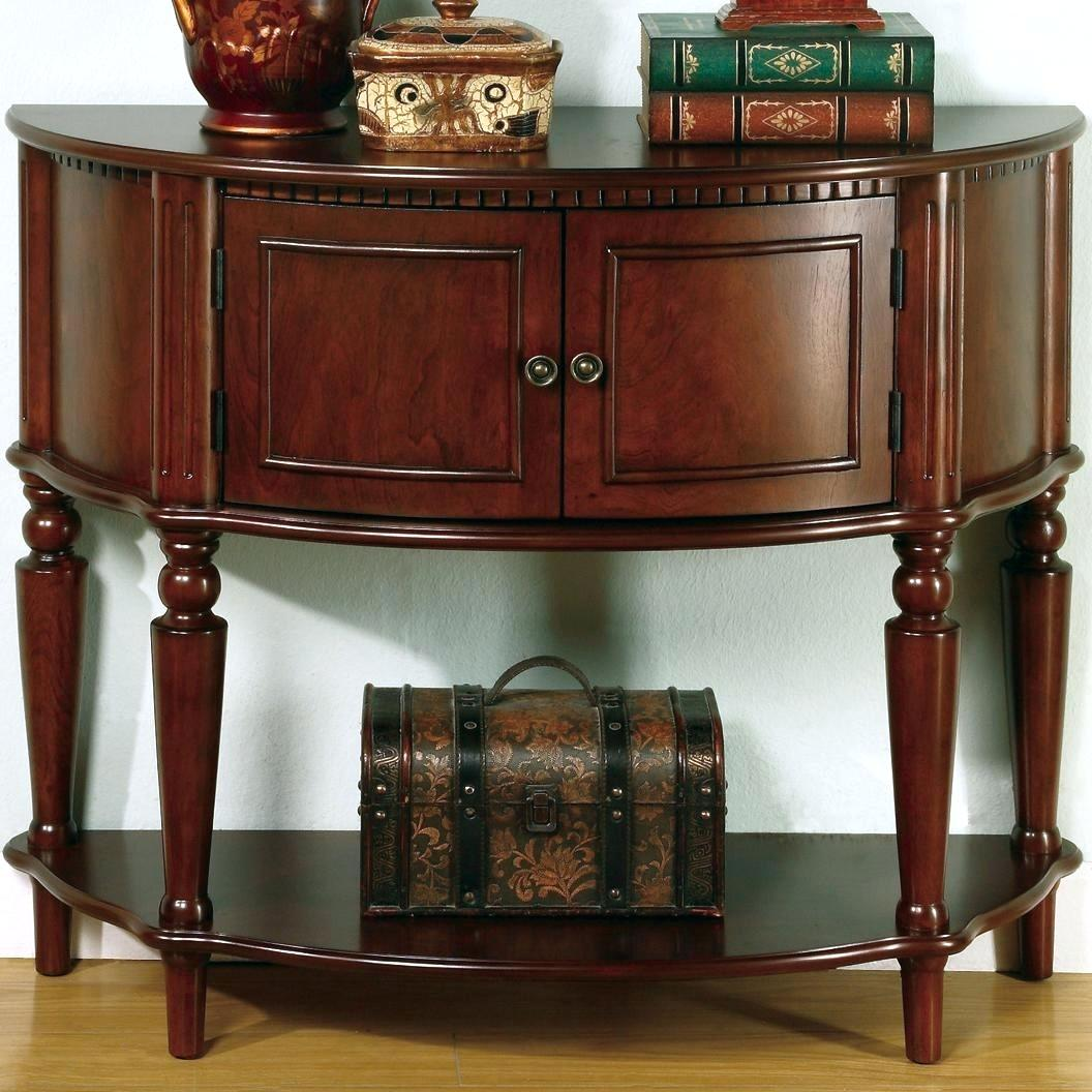 entry accent tables foyer glamorous coaster brown table with curved front inlay shelf fine furniture hall entryway classic contemporary inexpensive napkin vita silvia big modern