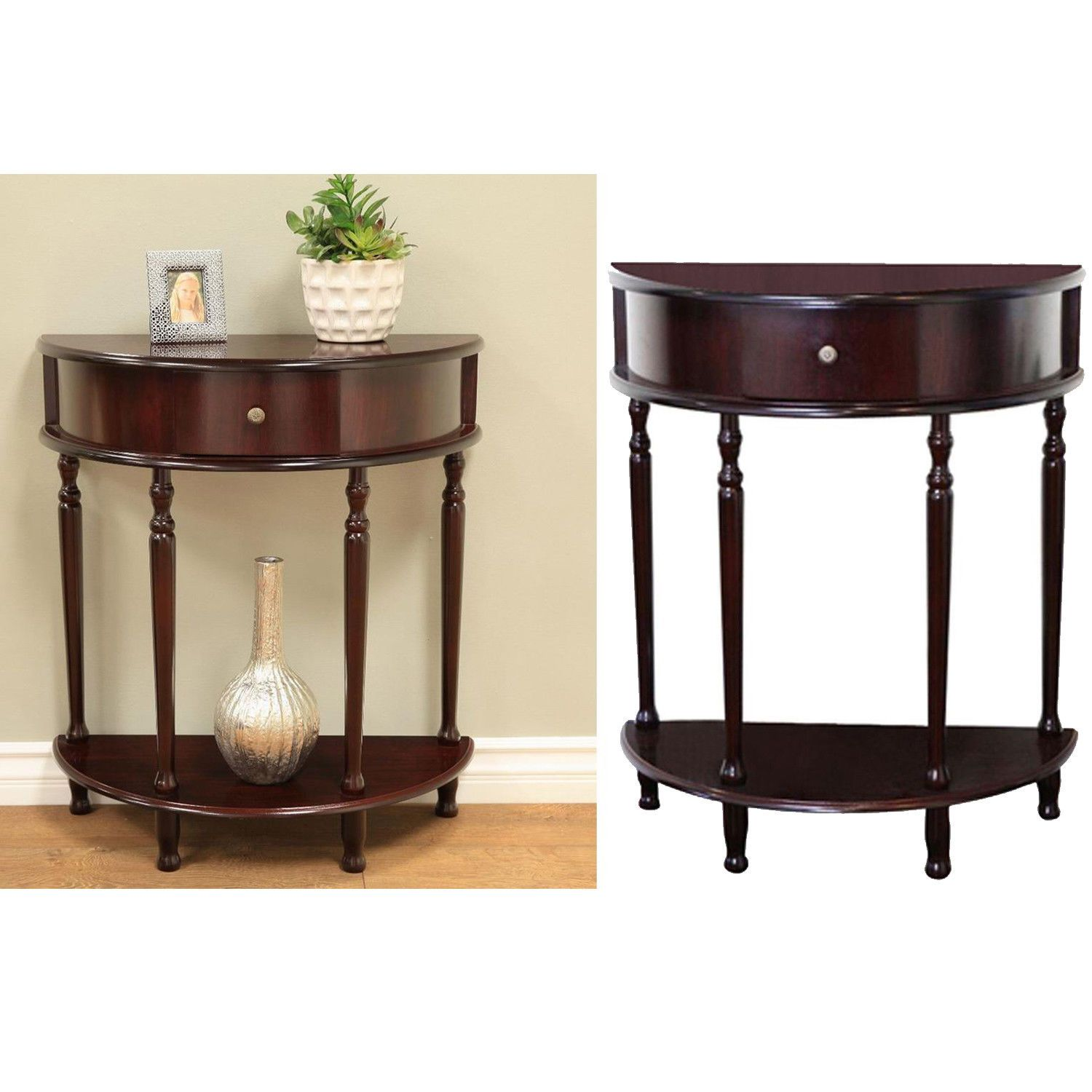 entryway console table half moon accent modern living room furniture hall decor round oak couch tray ikea ott hobby lobby end tables target kids folding wood coffee comfy garden