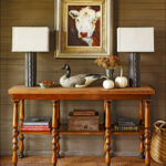 entryway long narrow entry table luxury accent white lovely easy fall decorating ideas autumn decor tips try antique wall clocks ballard designs outdoor cushions sailor lamp round 150x150