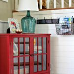 entryway makeover diy projects home and room threshold windham accent table affordable using target red cabinet goldenboysandme blanket box ikea round decorator tablecloths 150x150