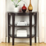 entryway small table homyellaw design modern entry half circle accent trunk chest dining linens black gloss cube side all weather patio furniture living room decorating ideas 150x150