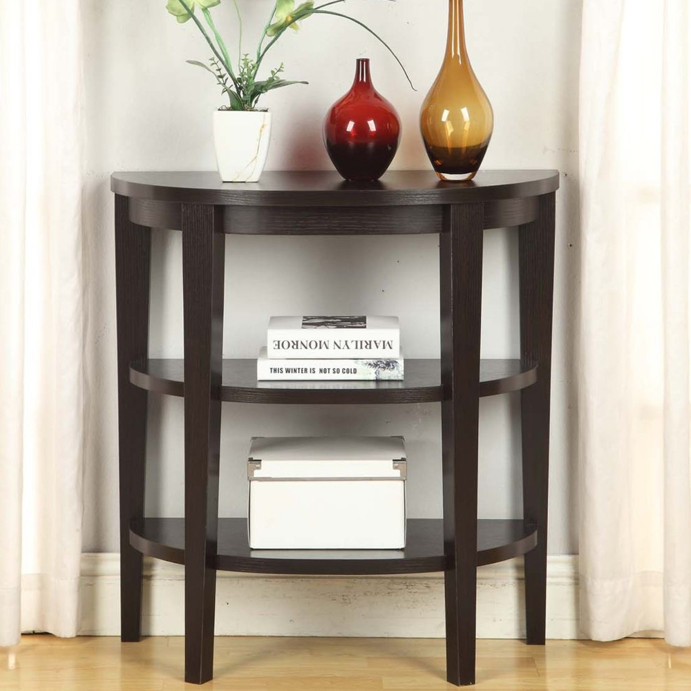 entryway small table homyellaw design modern entry half circle accent trunk chest dining linens black gloss cube side all weather patio furniture living room decorating ideas