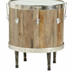 eric church highway home heartland falls brown drum accent table clear lucite ocean themed lamps small space living furniture bobs clearance room decor marble door threshold 150x150