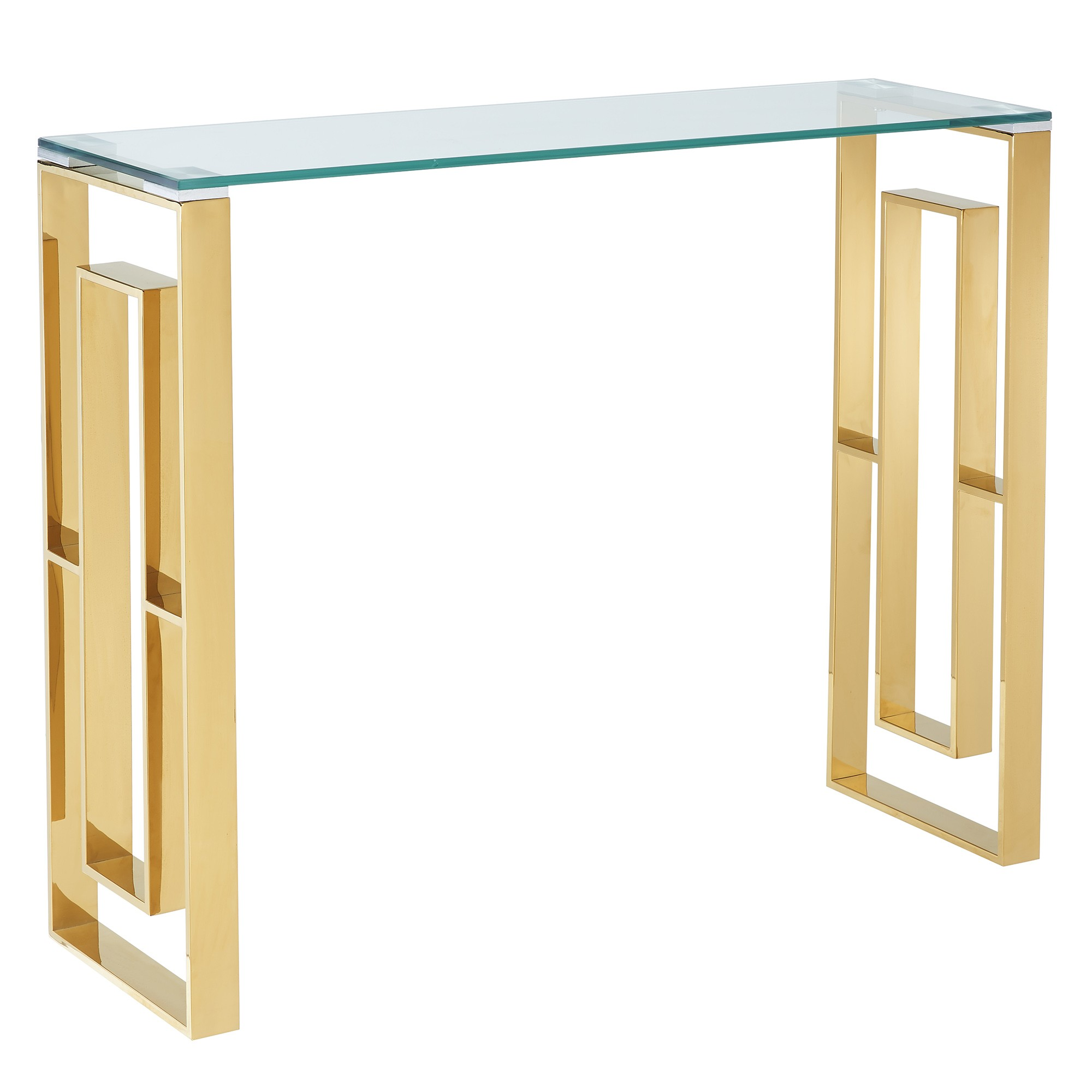 eros console table gold tables cabinets accent square metal end glass bedside replacement cushions for patio furniture pier imports tablecloth retro couch behind trestle dining