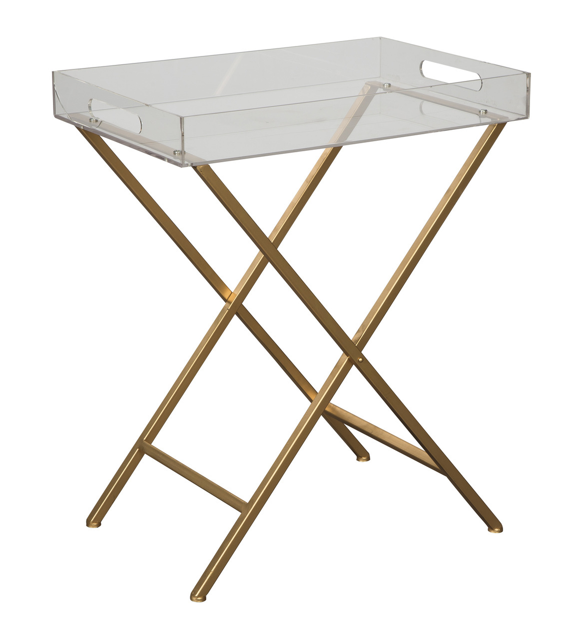 ervinville clear gold finish accent table ashley afi drum lamp shades entryway with shoe storage canopy umbrella cement base blue end tables living room furniture round tablecloth