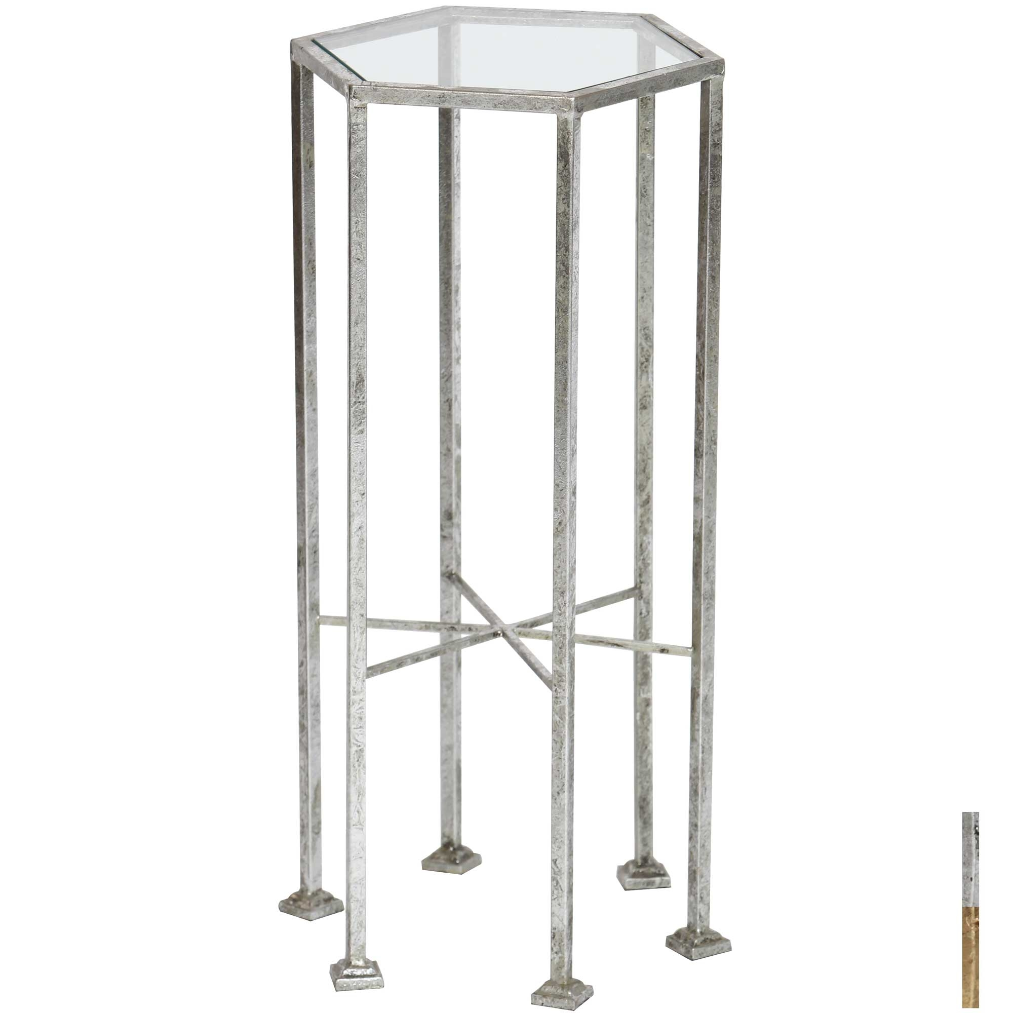 esher accent table timeless wrought iron twi tables glass top larger cool drum thrones battery operated indoor lights short narrow console and lamp combo country cottage coffee