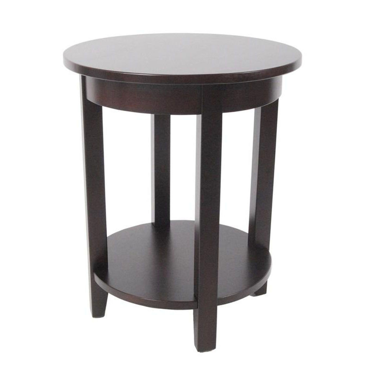 espresso round accent table bizchair bolton furniture bol main with drawer our shaker cottage wooden diameter storage shelf target desk rectangular cover outdoor gold lamp shades