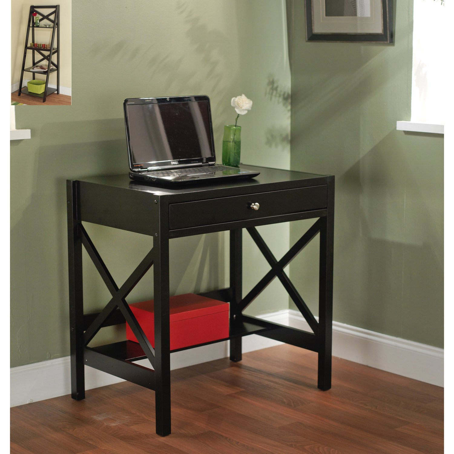 essentials wood white modern style licious and write corner reproduction vintage for room mid writing ladies small darley chair writers set desks cor threshold loring century