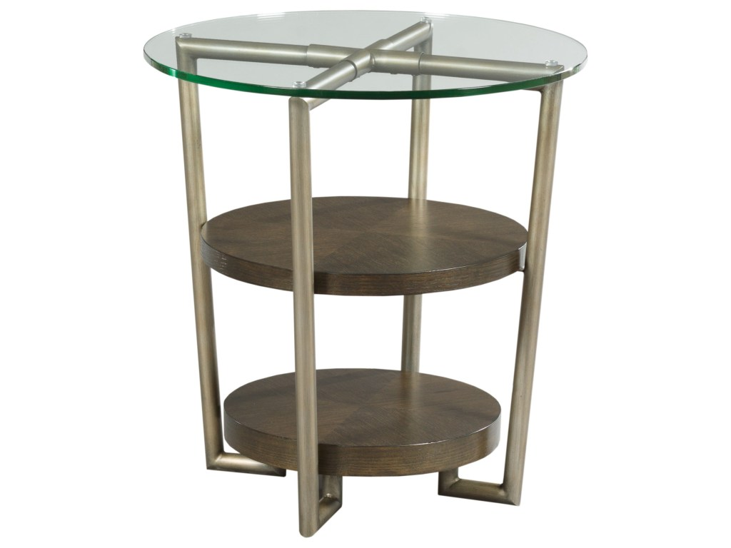 eton contemporary round accent table with glass top morris home products hammary color end etonround bayside furnishings cabinet monarch hall console cappuccino accessories