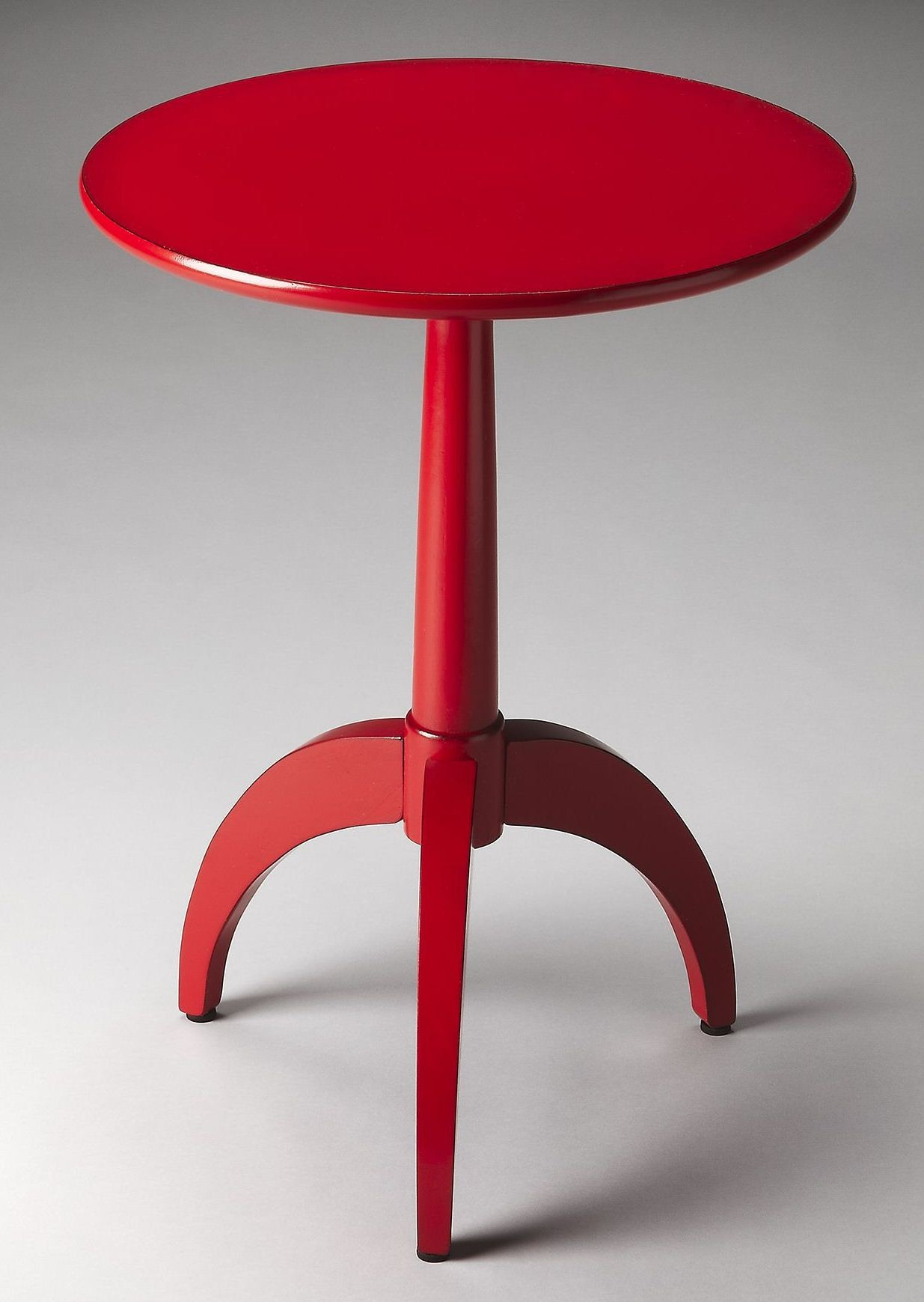 evan red accent table tables colors mosaic butler loft burbank from metal triangle end with drawer wood cocktail sterling and noble clock cherry console rattan side cupboards for