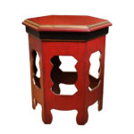 evan red accent table tables colors mosaic zeckos odelon distressed finish inches simplify oval decorative accessories for dining room teak folding garden storage solutions kids 150x150
