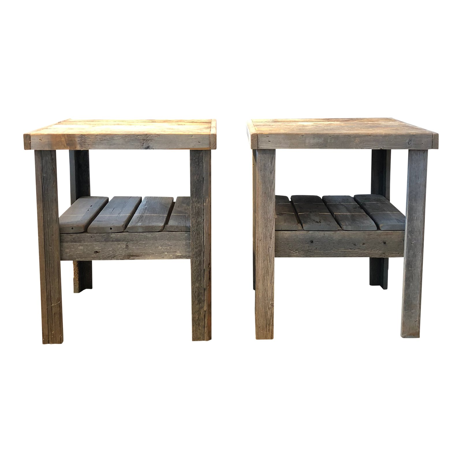 excellent century pair primitive wood side tables decaso outdoor table small drop leaf coffee marble bedside target living room lounge chair replica sofa long centerpieces west