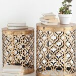 exceptional part home decor bella green mosaic outdoor accent table gold side tables brass vintage small trunk door threshold white upholstered dining room chairs pottery barn 150x150