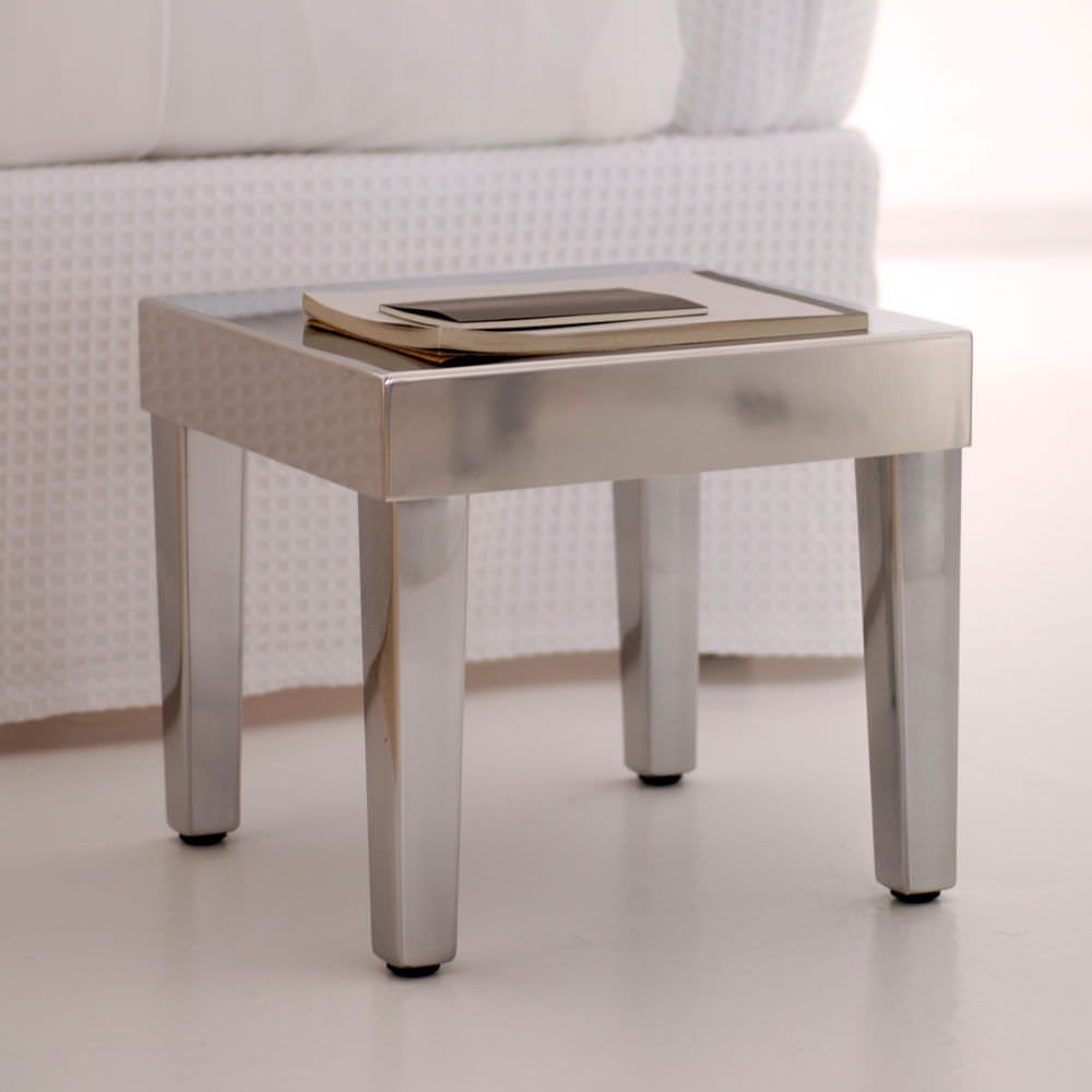 exciting leggy small side table featuring solid wooden materials fancy simple with metal body silver tones seamless white ceramic floor ideas tables furniture interior design