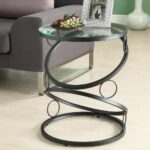 extra small end tables probably super best black metal glass modern round table side accent home furniture living room desk lamp with phone charger ikea dining chairs target 150x150