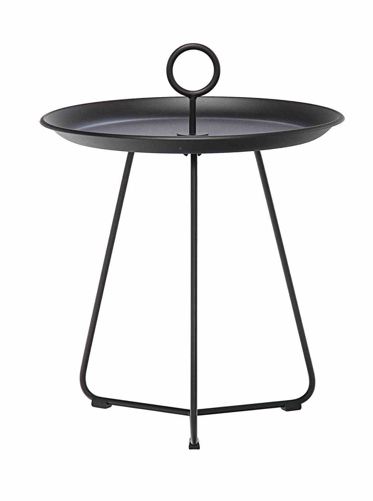 eyelet outdoor side table small houe beistelltisch klein schwarz accent corner nightstand target black bedroom end lamps round entryway metal patio with umbrella hole off white