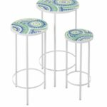 fabulous mosaic accent table with amazing imax worldwide laguna inch round set outdoor stone nautical ornaments washer dryer butler furniture tables glass corner sofa chairs 150x150