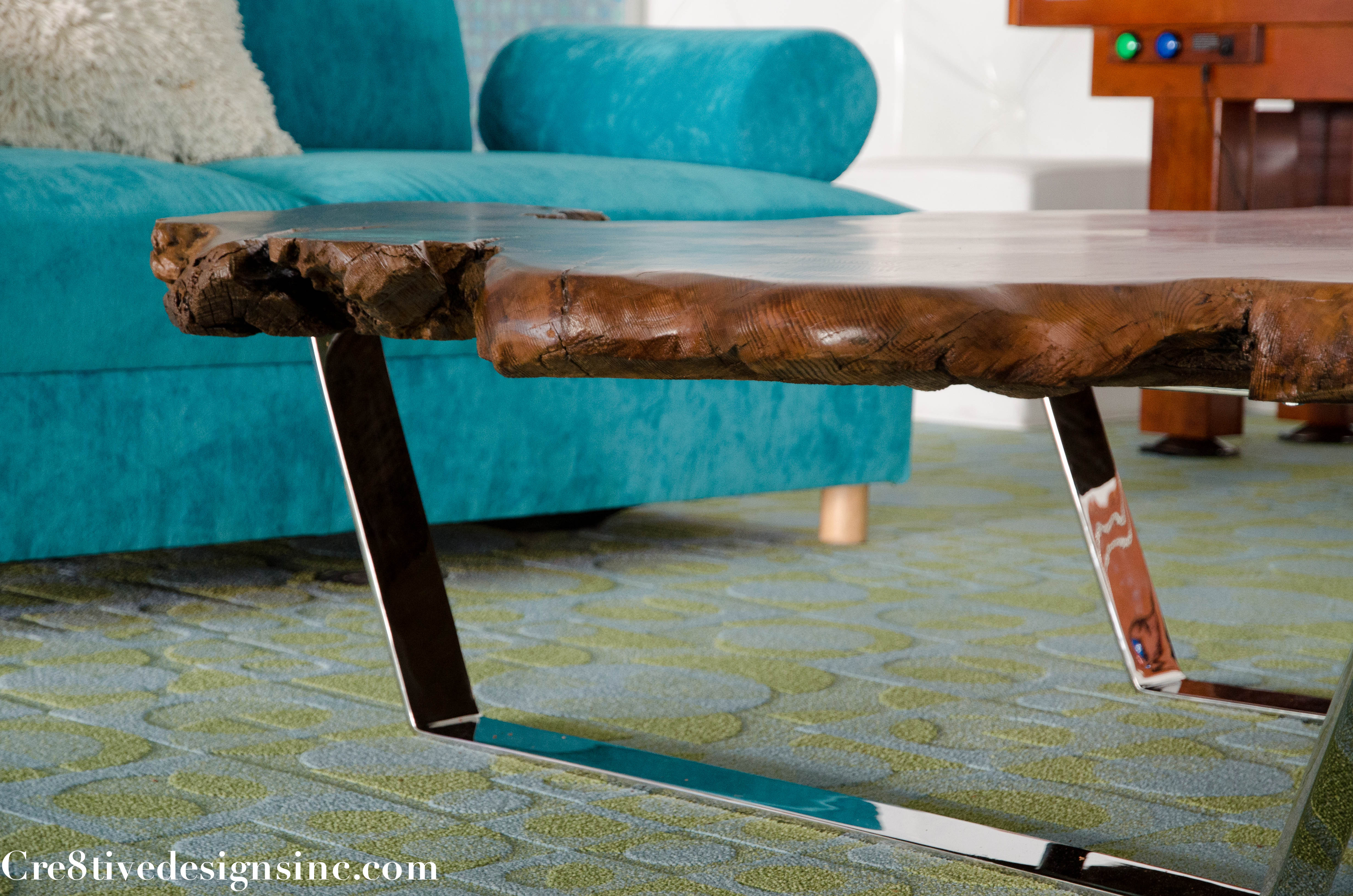 fabulous raw wood coffee table with uttermost asher blue accent small black garden outdoor grill reclaimed mirror company mosaic tile dining tables kitchen metal room legs white