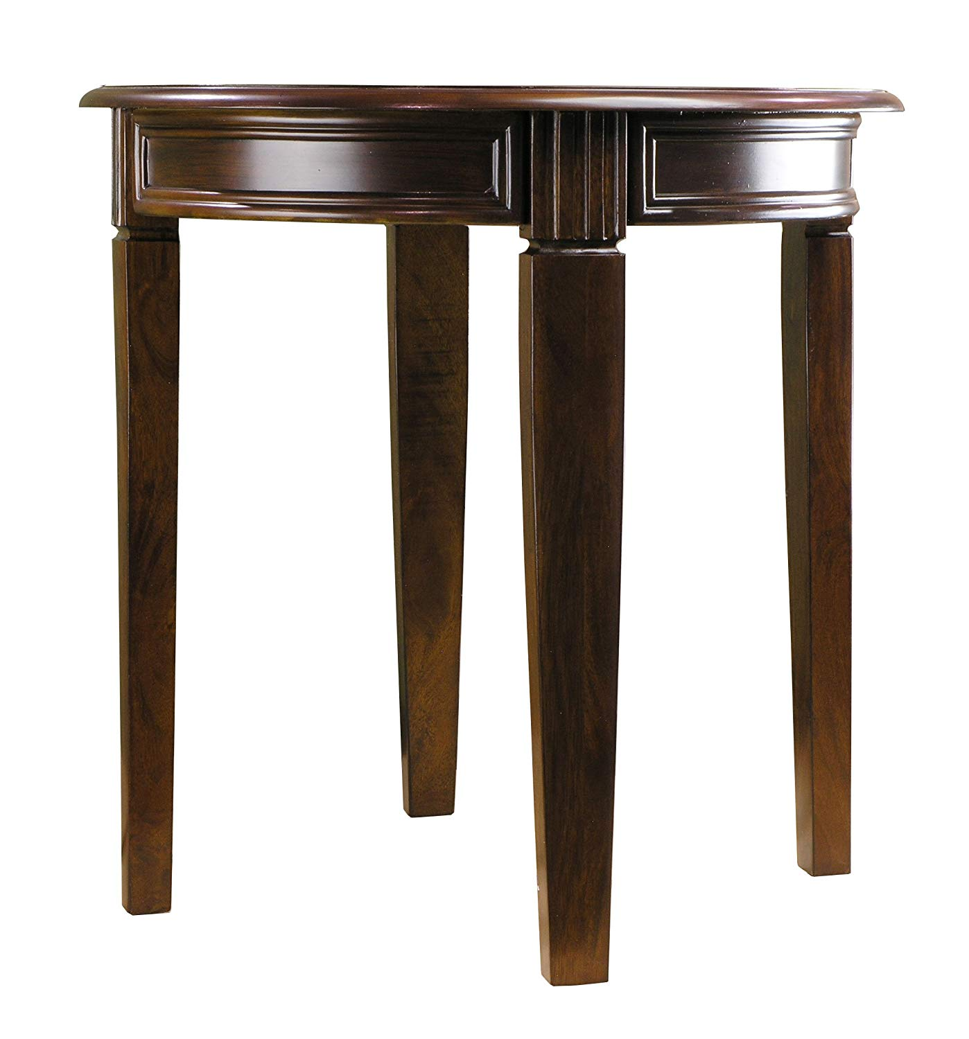 fairview game rooms round accent table chestnut finish kitchen dining calligaris furniture lift coffee inch deep sofa pottery barn glass side rose gold placemats modern lamp