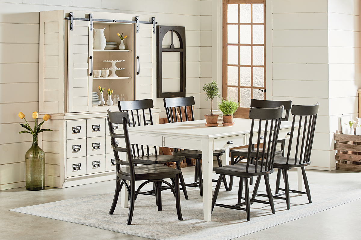 farmhouse magnolia home frm keeping table aspx harper round accent rolling tool box placemats and napkins set decor island bar stools outdoor sideboards buffets coffee with nested
