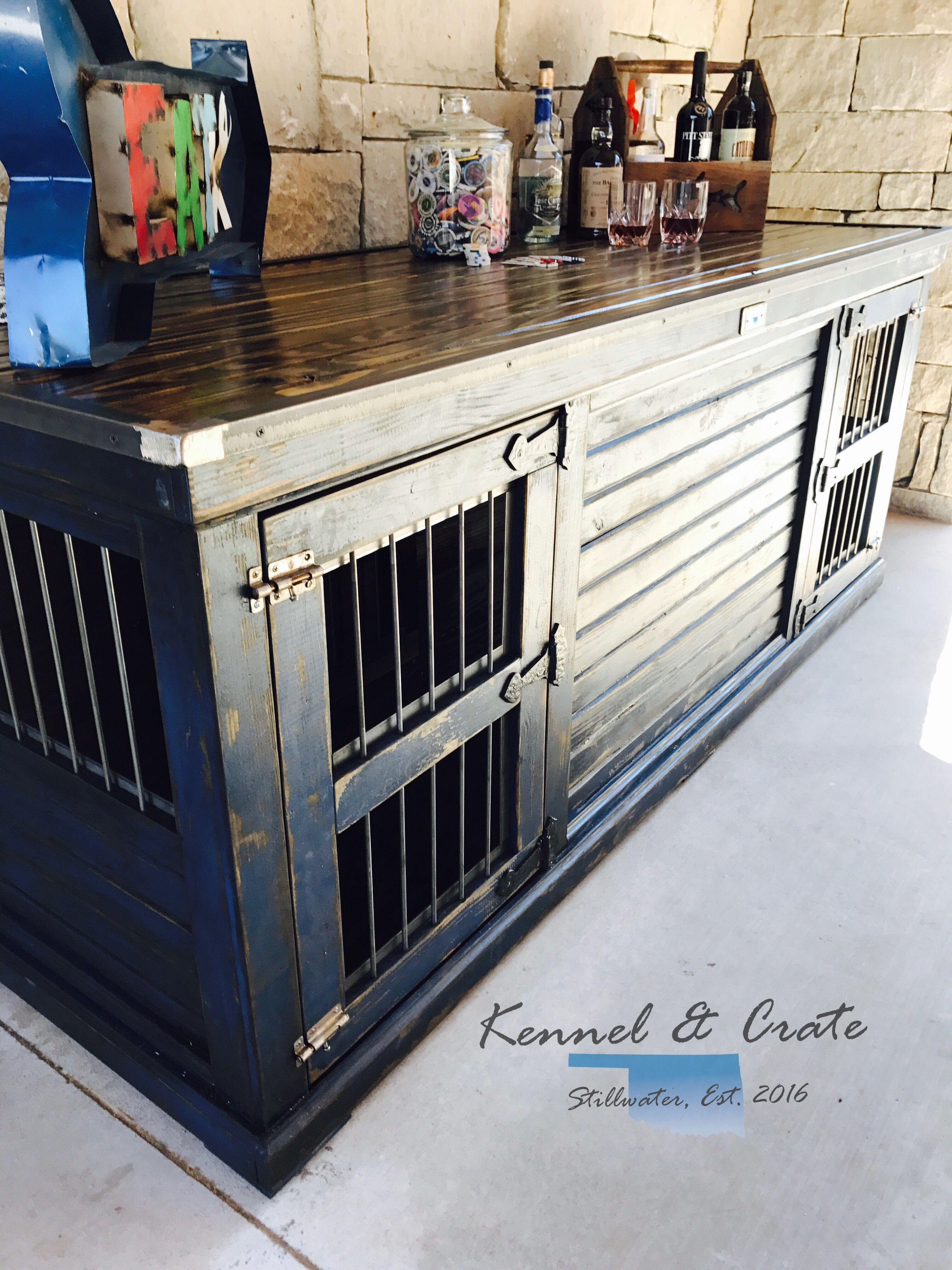 farmhouse style indoor double dog kennel dress blues sherwin ideas moroccan table lanterns hemnes drawer dresser chrome round accent drum inexpensive nightstands cpap nightstand