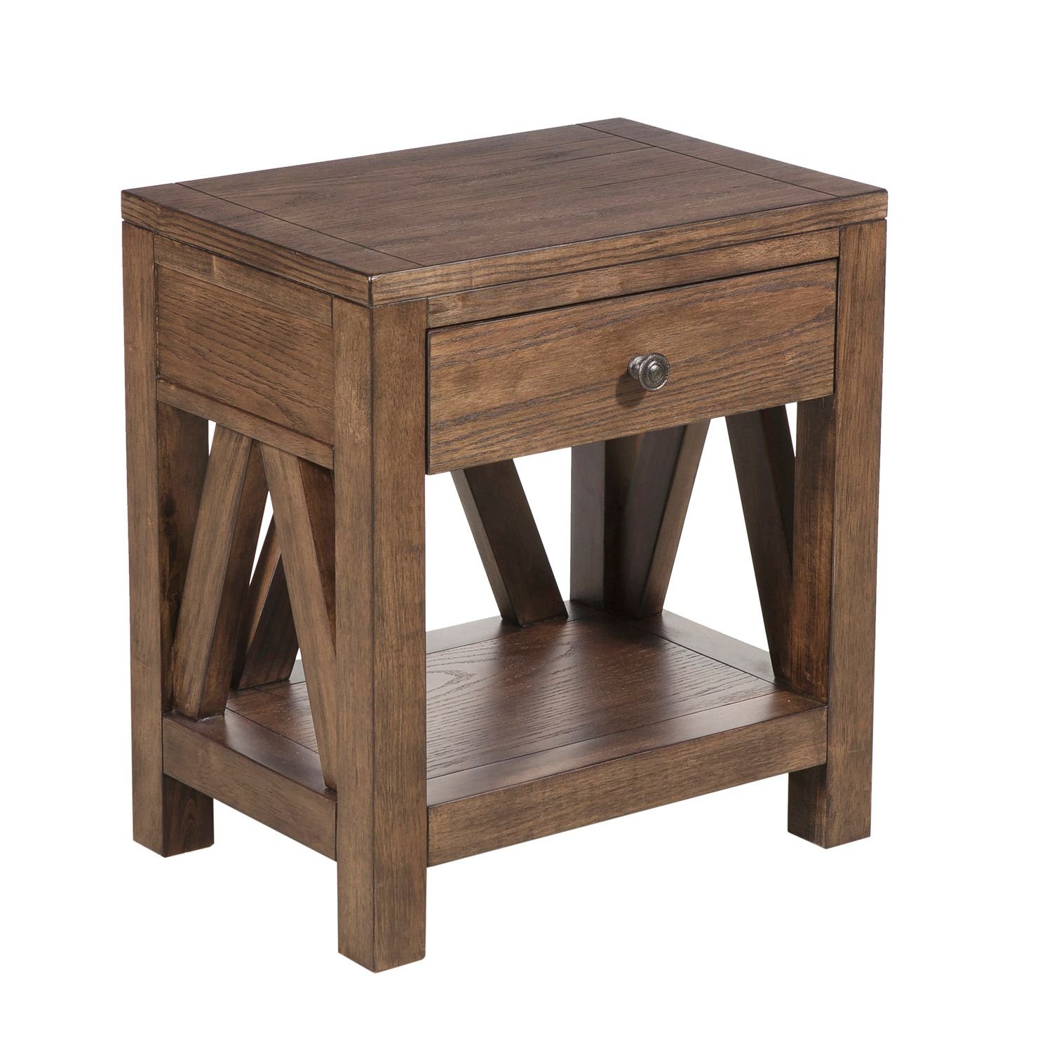 farmhouse style side table pier imports small accent tables one decorative pieces for dining tabletop gas grill best coffee living rooms decoration drawing room furniture italian