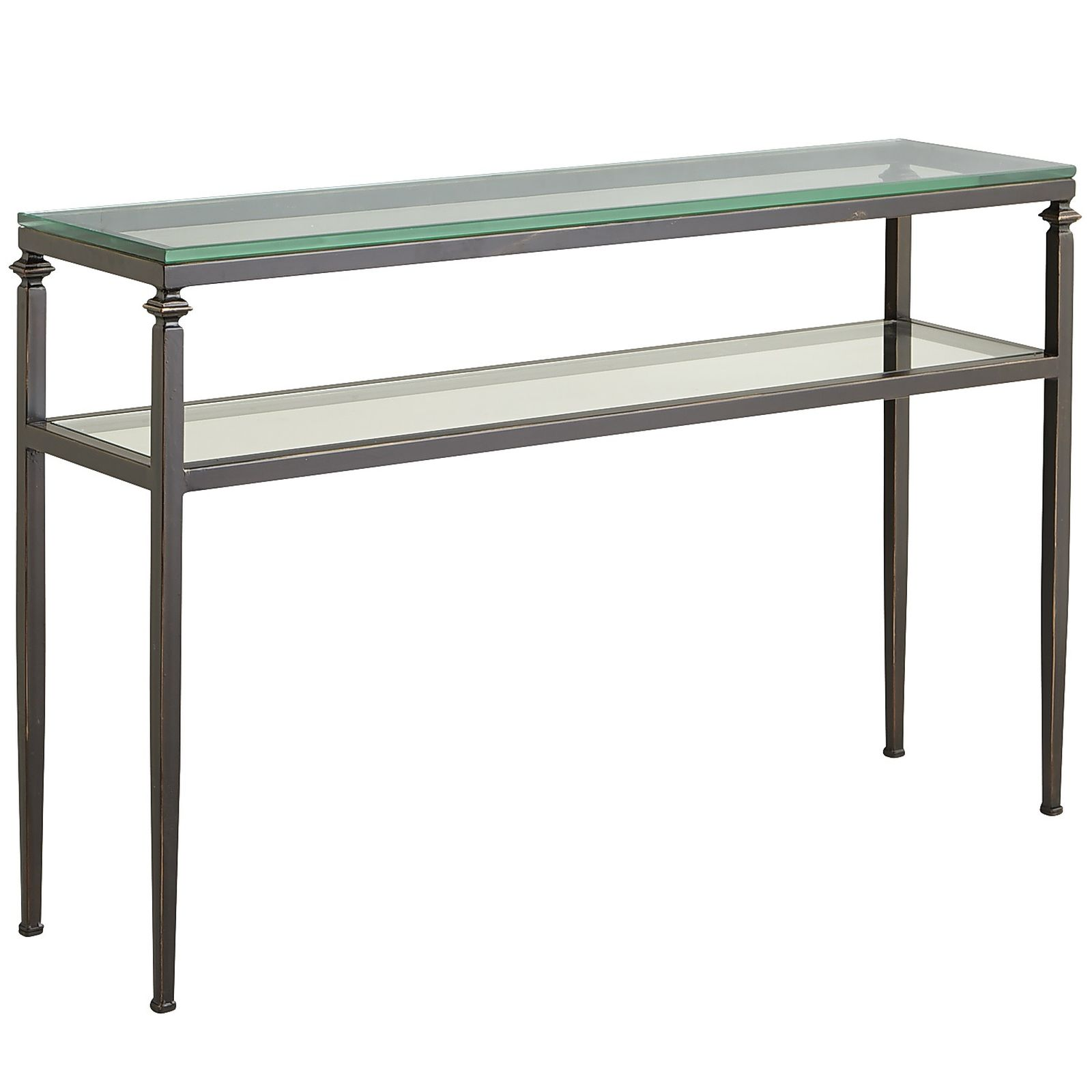 faux leather sofa narrow metal console table glass and iron small inflatable marble rustic garden accent full size tables outdoor coffee ideas chest drawers style couch butler